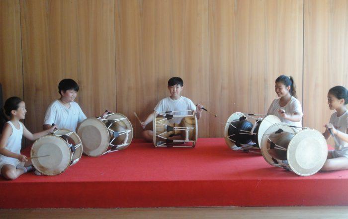 Koreanische Trommeln